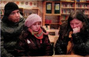 Abdul, Yalda og Maria Gazul