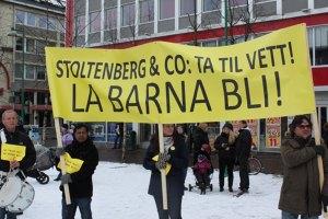 Fra en tidligere markering i Tromsø. Foto: frifagbevegelse.no