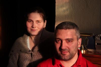 Alpijat (til v.) og Arsen Iljasov