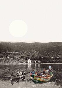 Emigrantreisens begyndelse (Andrea Lange)