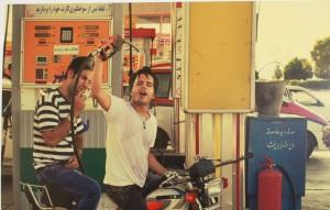 Incuriosity Collection (Utsnitt av bilde med gutter på motorsykkel) - Hadi Zandiyeh